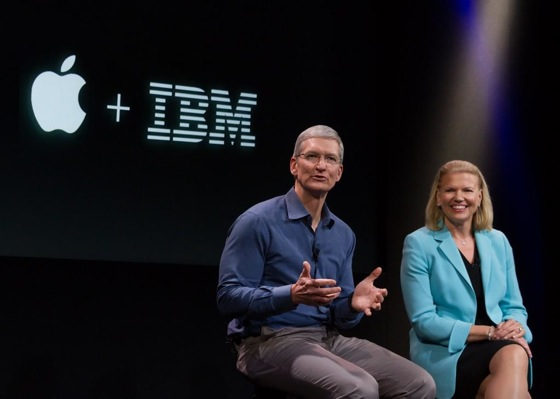 Tim-Cook-Ginni-Rometty-Apple-IBM